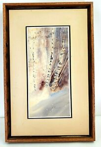 John Ebner Ltd Ed Watercolor Lithograph Signed Numbered Art Print $55.00