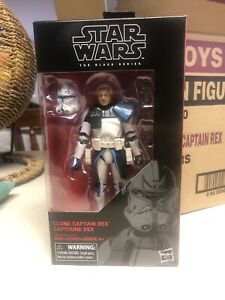 Star Wars Black Series 6 Inch #59 Captain Rex Straight From A Fresh Opened Case