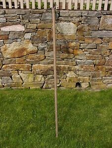 Old Used ToolsAntique Wm. T Wood Ice Hook74 3 4quot;Rugged Patina100 Years Old