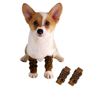 Kitipcoo Pet Knee Pad Winter Knee Protectors Pet Socks for cat and Dogs Under XL $19.98
