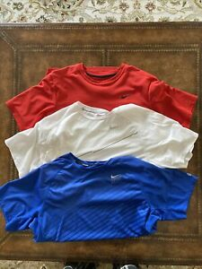 Lot of 3 Nike Running Shirts XL $14.90