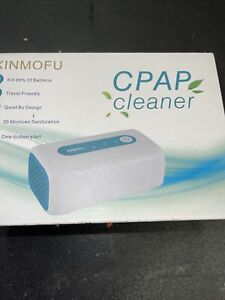 XINMOFU CPAP CLEANER SANITIZER PORTABLE QUIET 30 MIN TO SANITIZE 4TUBES