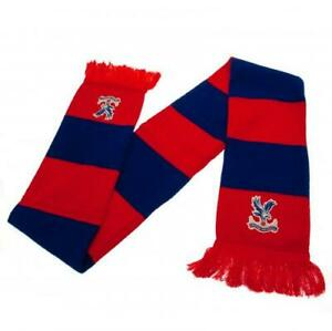 Crystal Palace FC Bar Scarf Red amp; Blue Knitted Official Licensed Product