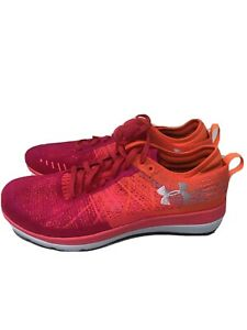 New under armour shoes womens Size 11 Orange 1295768 600 $42.95