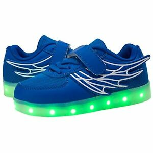 eslla Toddler Kid Energy Light Up Shoes LED Color Changing Boys Girls Flashing $33.99