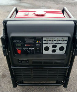 Honda EB5000i 5000 Watt Portable Quiet Inverter Gas Power Generator Low Hr