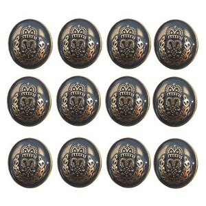 Metal Button Embellishment Flat 4 Hole DIY Sewing Accessory Round Sewing Jeans $12.97