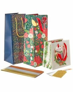 The Gift Wrap Company Assorted Gift Bag Set $12.99