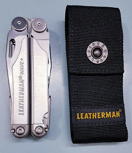 Leatherman Wave Plus Multi Tool 17 Function MPT 832531 Stainless Steel W Sheath