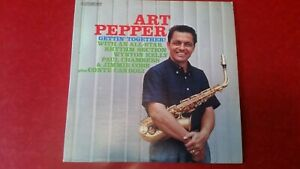 Art Pepper quot;Gettin Togetherquot; Contemporary S7573 NM shiny $17.95