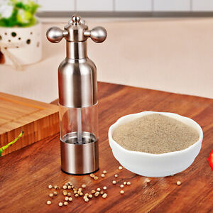 8.27 Manual Pepper Grain Spice Mill Grinder Stainless Steel Kitchen Tool