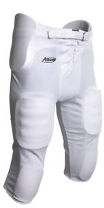 Adams Youth Football Pants With Sewn in Pads White NWT Youth S M L XL