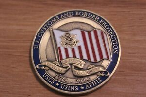 USCS USINS APHIS U.S. Customs and Border Protection Challenge Coin $24.99