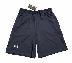 Mens Under Armour Shorts Large Navy New $22.50