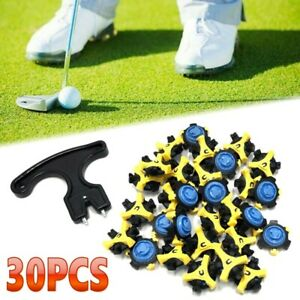 Replacement Golf Shoe Soft Spikes Wrenches Cleat Fast Twist Tri Lok For Footjoy