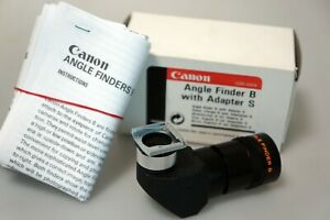 lt;Near Mint in Boxgt; Canon Angle Finder B Adapter S with Box from Japan $64.99