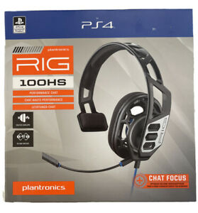 PS4 Gaming Headset Plantronics Rig 100HS for PlayStation4 $17.90