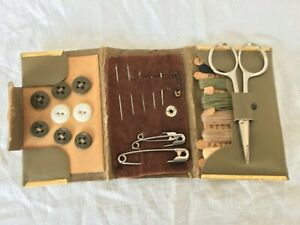 Original Vintage US GI WW2 Military Sewing kit Collectable item. GBP 45.00