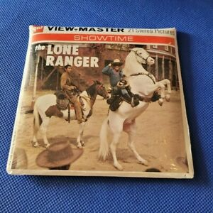 Sealed Gaf B465 The Lone Ranger Mystery Rustler view master Reels Packet $38.00