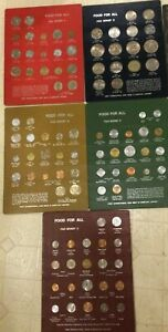 FOOD FOR ALL FAO MONEY 1 5 5 boards of coins $320.00