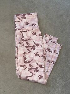 xersion pink camouflage fitted workout pants
