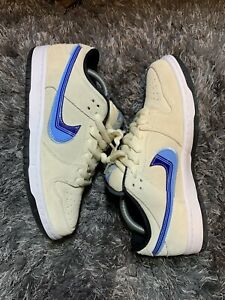 Size 8.5 Nike SB Dunk Low Truck It 2020 Skateboarding Preowned Mens Used Blue