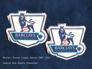 Sporting ID Barclays Premier League 2007 2013 General Style Replica Arm Patches