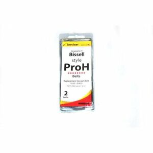 Bissell 18 3301 00 Pro Heat Vacuum Everclean 1 Flat and 1 Geared Generic Belt $6.67