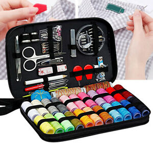 24 Spools of Thread 24 Color for Family ,Sewing Kit with 99 Sewing Accessories $10.09