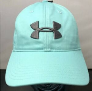 NEW Mens Under Armour Golf Hat Turquoise MSRP $25 $13.49