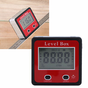 Digital Level LCD Inclinometer Protractor Portable Magnetic Angle Finder Gauge $15.64