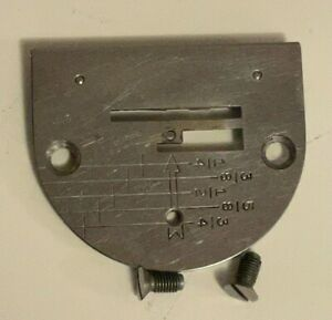 Singer Machine 301 Graduated Needle Plate #170098 Singer 221 Featherweight $42.95