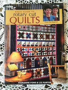 """Fons And Porter """"Basic Guide To Rotary Cut Quilts"""" Book For Begining Quilters $7.00"""