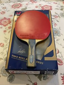 Butterfly table tennis Timo Boll ZLF FL blade w Dignics09c Corbor rubbers set $199.99