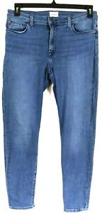 HUDSON Natalie Mid Rise Ankle Super Skinny Jeans In Queensbury Wash Tag Size 31