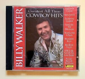 Billy Walker Greatest All Time Cowboy Hits 1995 Country CD Free Shipping $5.10