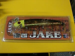 Musky Mania Big Flash Blonde Bombshell Jake Fishing Lure New in Package J6 833