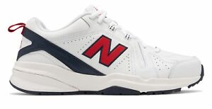 New Balance Men#x27;s 608v5 Shoes White with Red