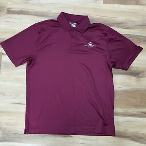 Under Armour Golf Polo Shirt Mens Large Heatgear Loose fit University of Chicago $24.88