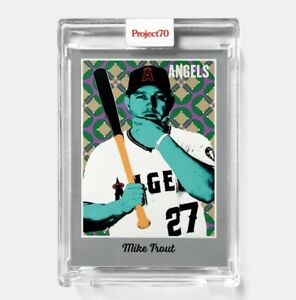 Topps PROJECT 70 Card 270 Mike Trout by Ron English PRESALE