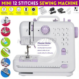 Electric Sewing Machines 12 Stitches Knitting Presser Foot Craft Portable Needle $103.99