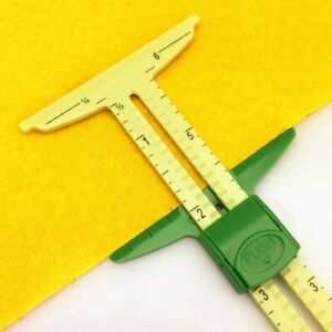 T Square Rulers 5 in 1 Sliding Gauge Measuring Sewing Tool $14.37