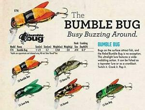 Rebel Lures Bumble Bug Fishing Lures 1 1 2 inch 7 64 oz 5 Choices FREE Shipping
