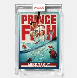 Topps PROJECT 70 Card 290 Mike Trout by Quiccs PRESALE