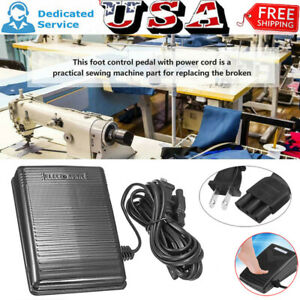 Electronic Home Sewing Foot Control Pedal Fit For SINGER Kenmore Machine Tool US $22.99