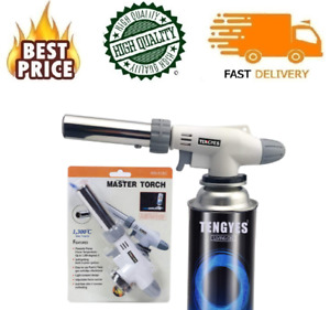 Blow Torch Kitchen Butane Lighter Culinary Torch Chef Cooking Torch Safety EASY