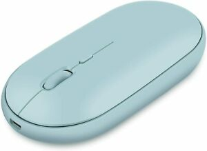 Wireless Mouse Rechargeable For Laptop 2.4G Slim Computer Mouse Cordless Optical