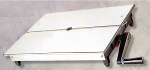 Plan Slice Cheese Manual Stainless Steel 16 1 2x21 11 16x3 7 8in Fraraccio