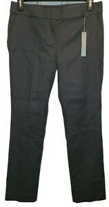 Ann Taylor Loft Straight Through The Hip Gray Pants Size 10 NEW WITH TAGS $26.99