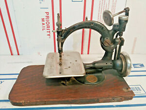 Antique cast iron Wilcox and Gibbs Sewing Machine 1894 Swivel Mount $289.95